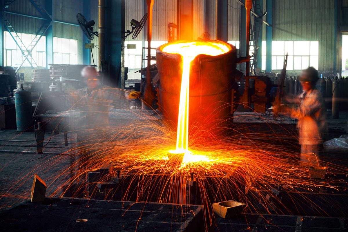 Картинка получения стали