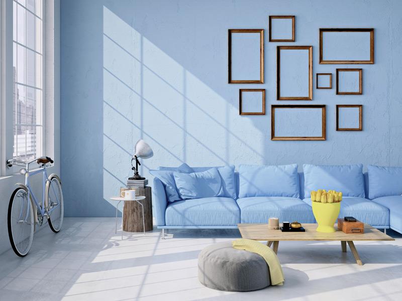 Wohnzimmer skandinavischer stil