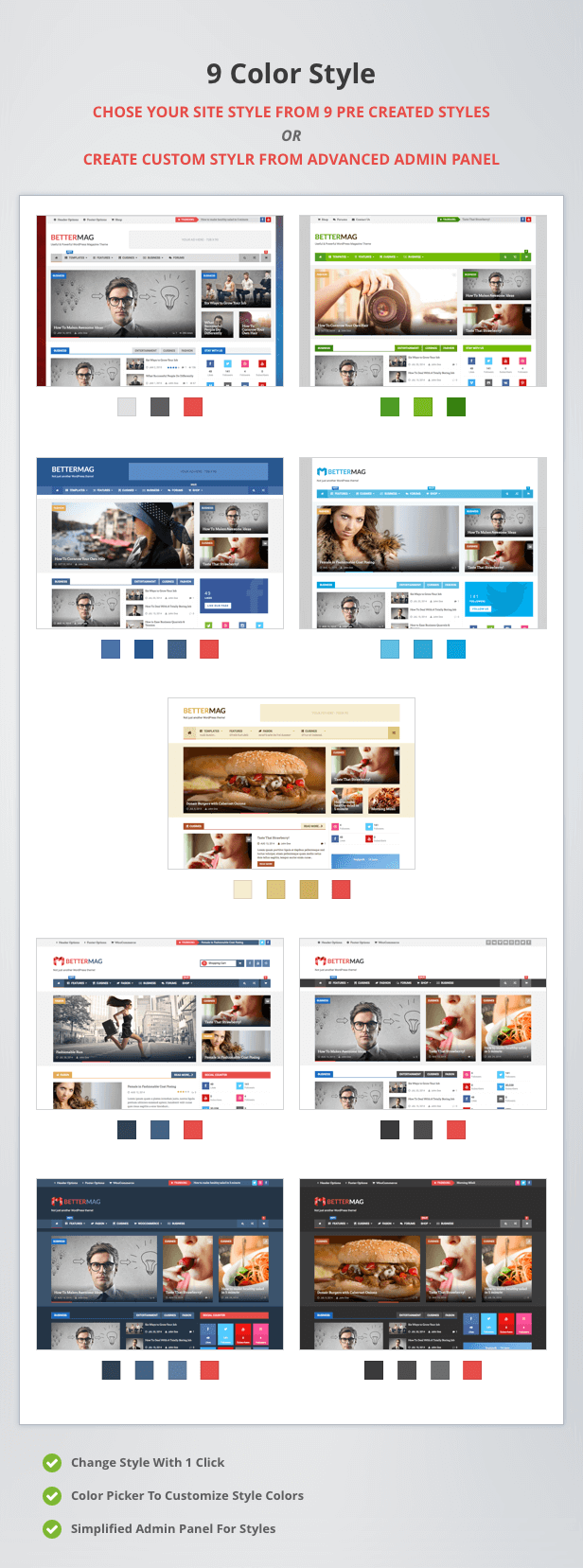 BetterMag - News, Blog, Magazine WordPress Theme