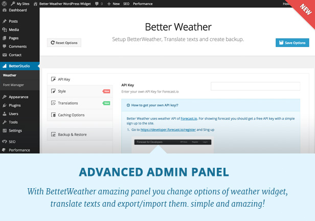 Better Weather - WordPress and Visual Composer Widget 5
