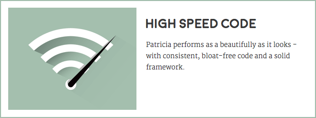 Patricia - Feature Rich WordPress Blog Theme